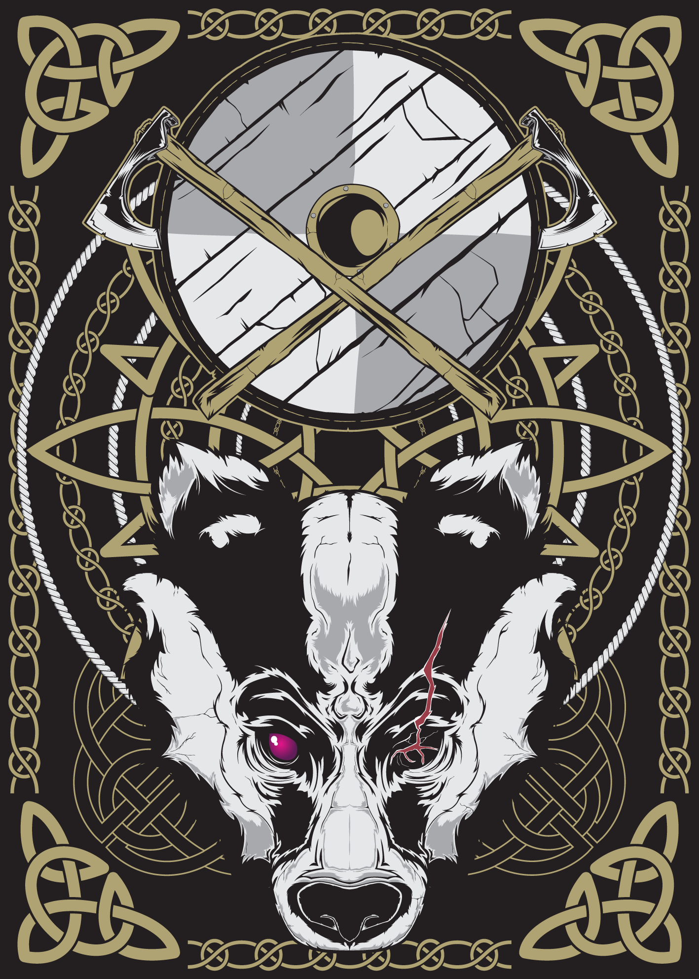 Nordic posterseries - Badger