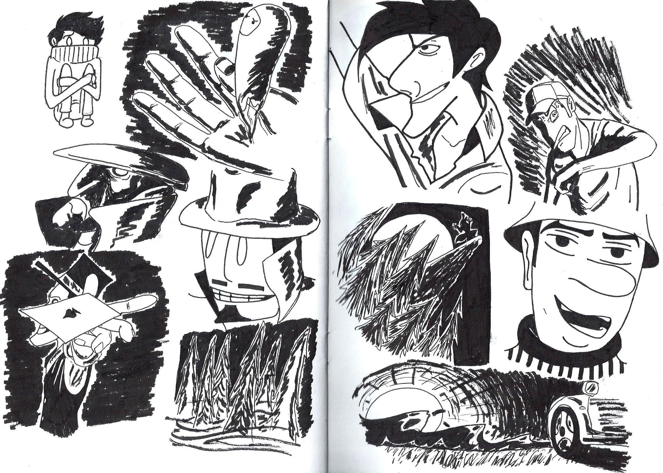 random drawings 2