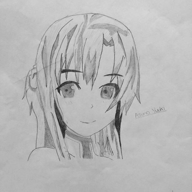 Asuna Drawing