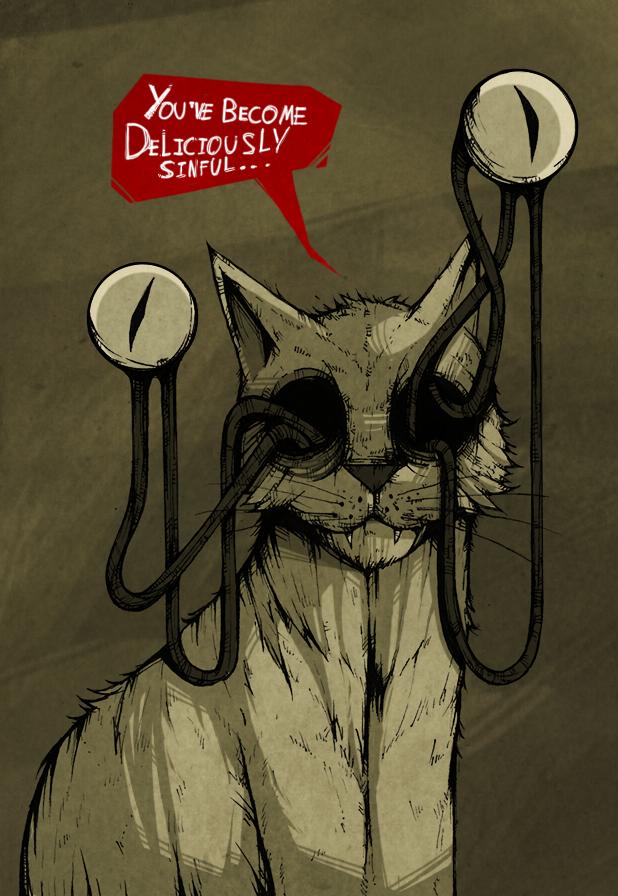Le Chat Démoniaque
