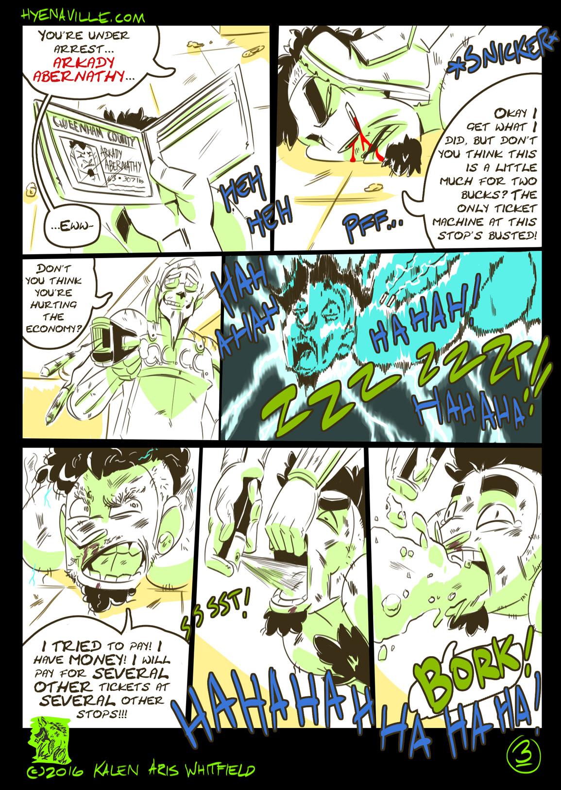 HYENAVILLE page 3