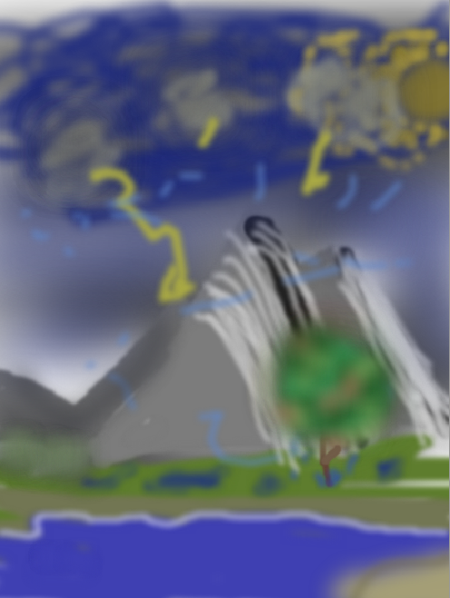"""My First """"Painting"""""""