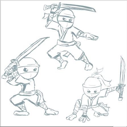 Ninja sketches