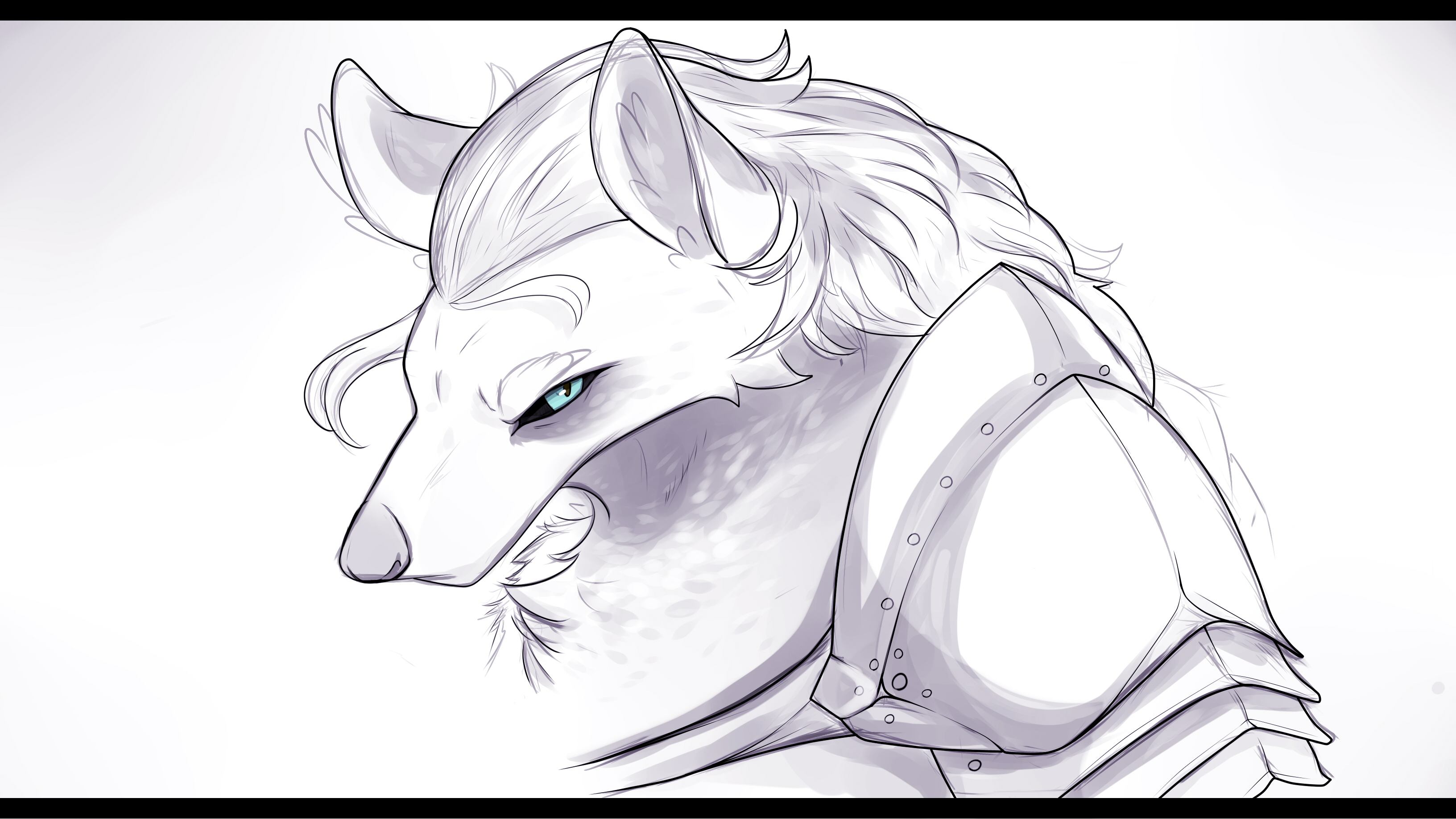 Wolfy armored
