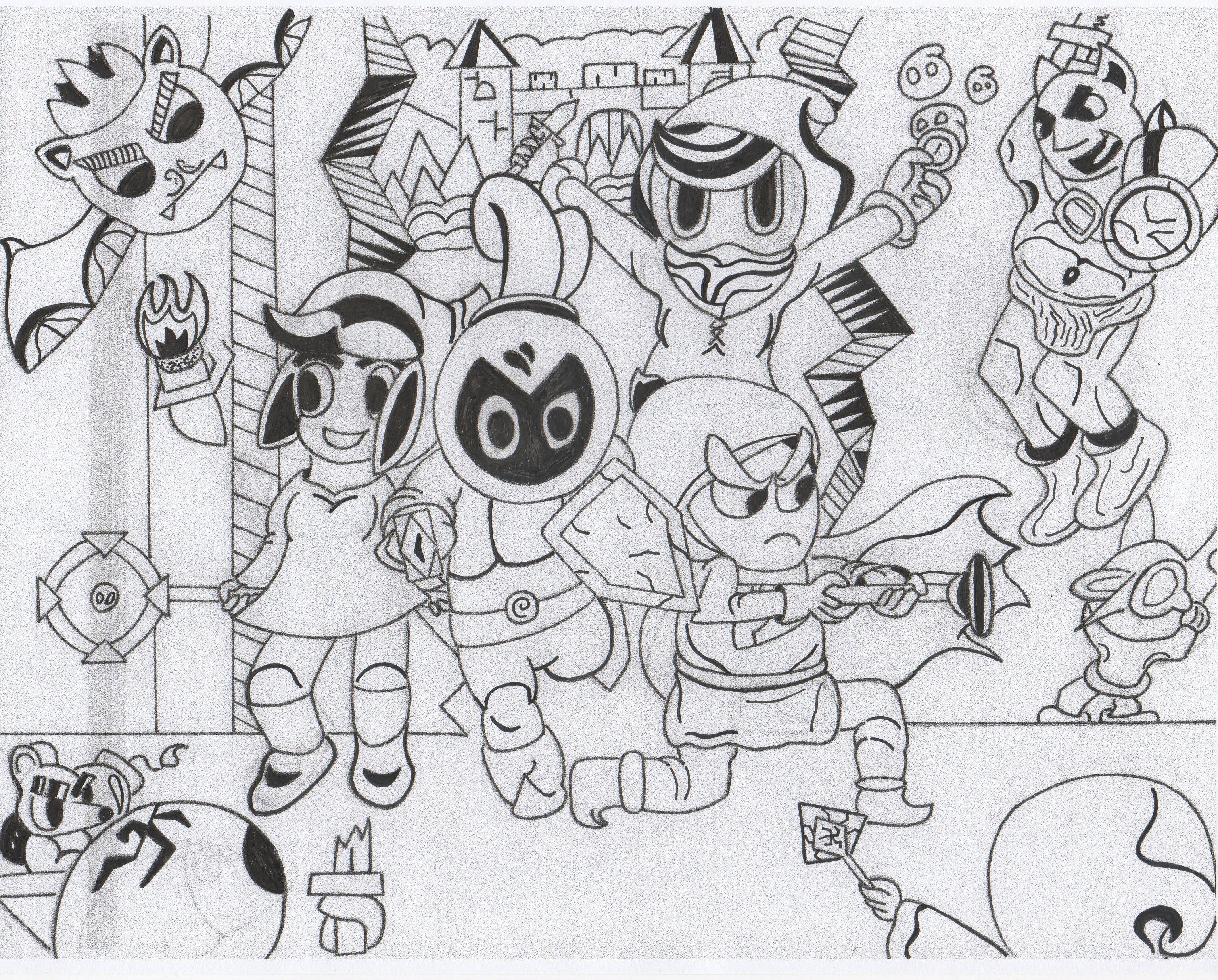 Ink Knights