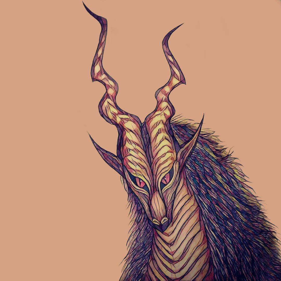 Furry Dragon