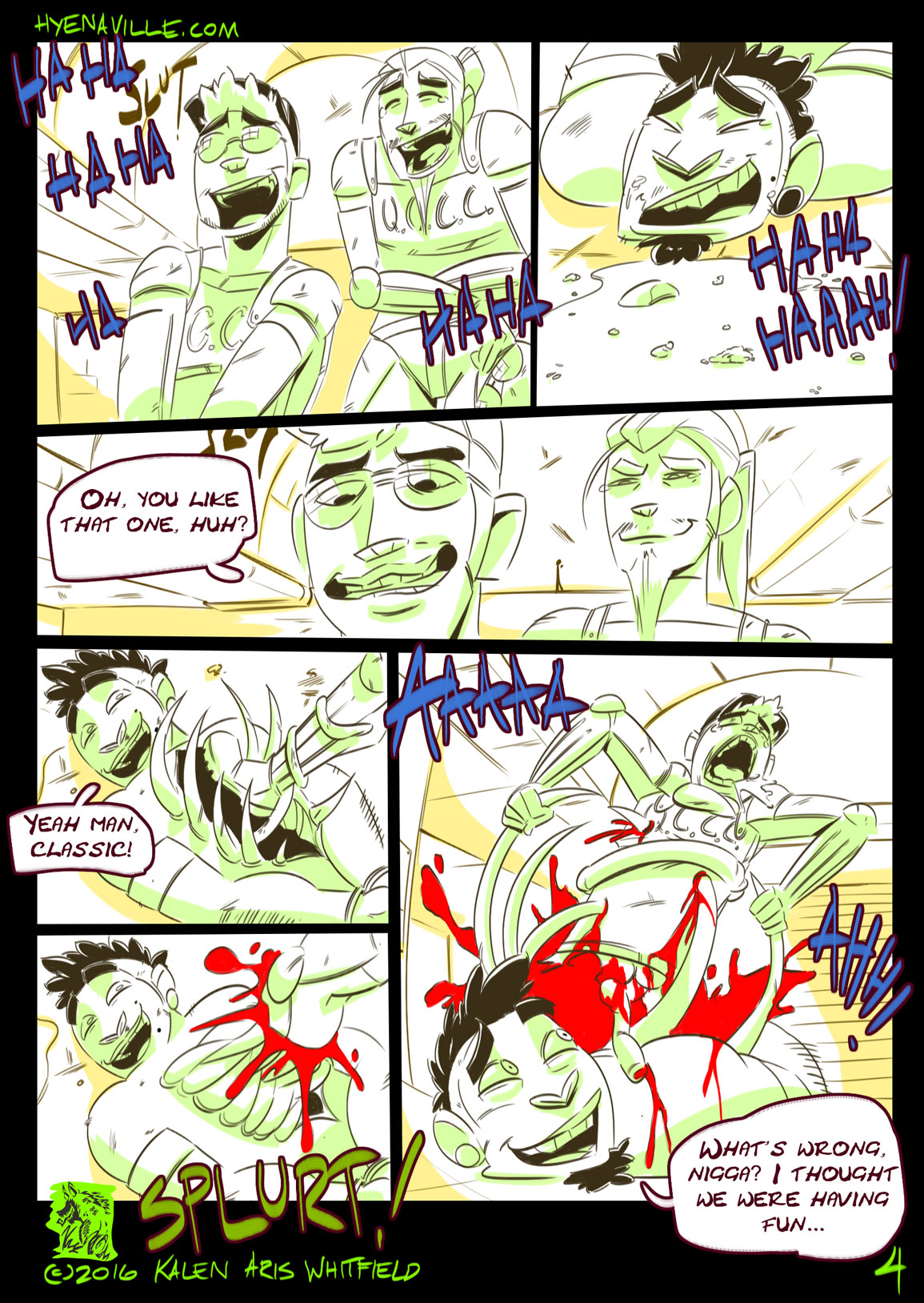 HYENAVILLE page 4