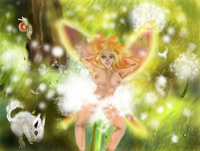 Beautiful Gia made on Nintendo 3DS