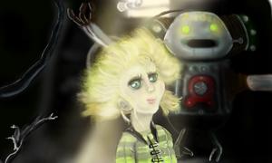 Metropolis: Tima Fan Art made on nin.3DS