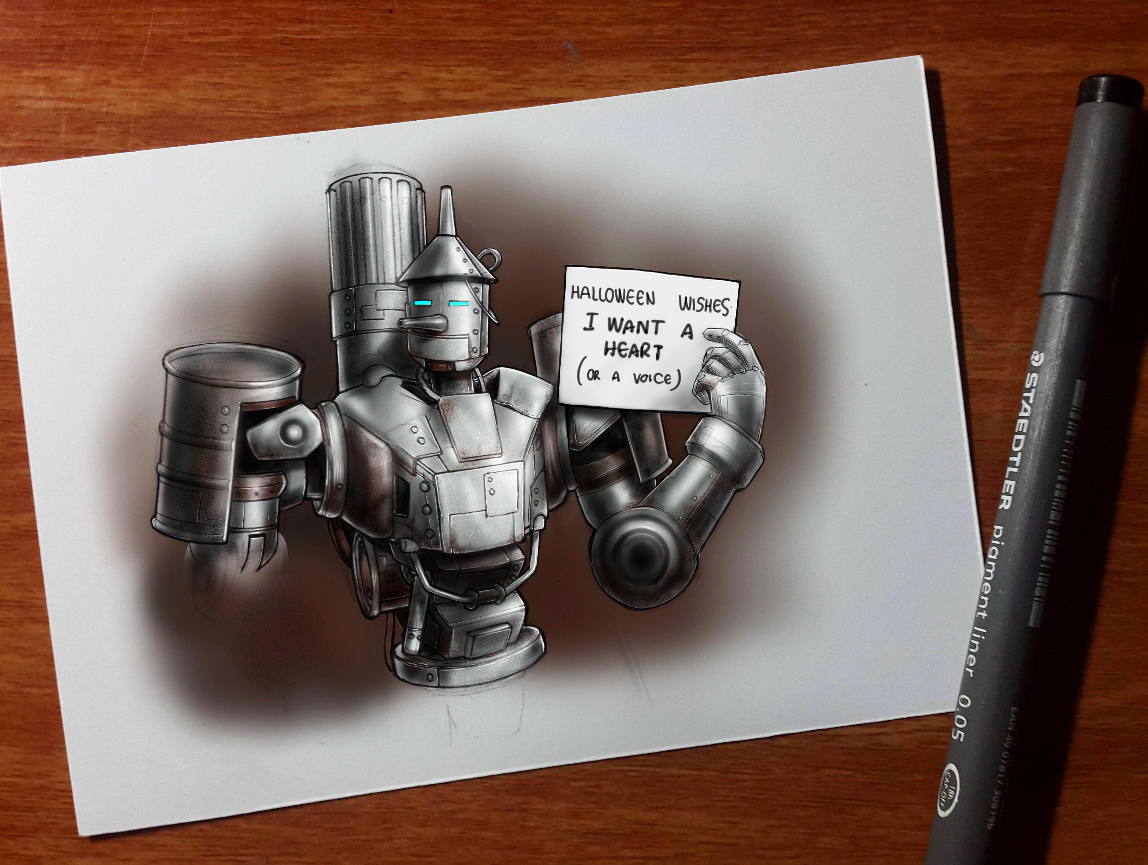 Tin man Bastion skin design!