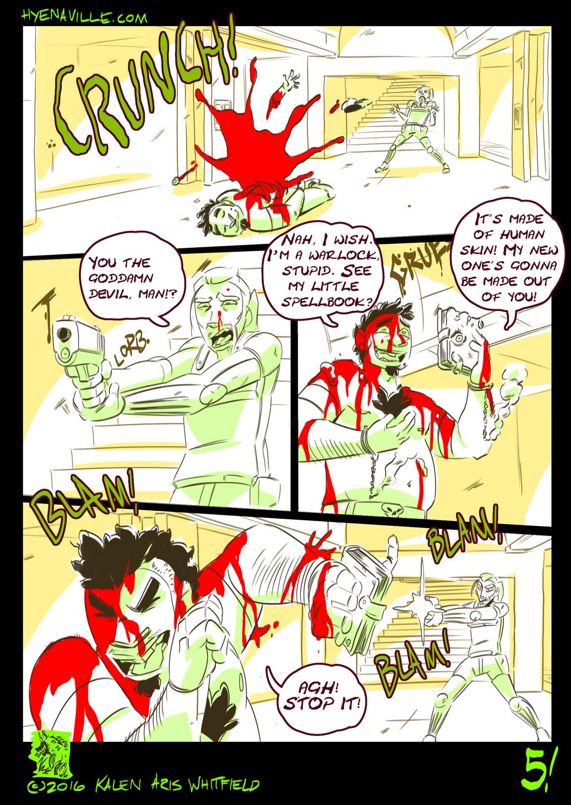 HYENAVILLE page 5