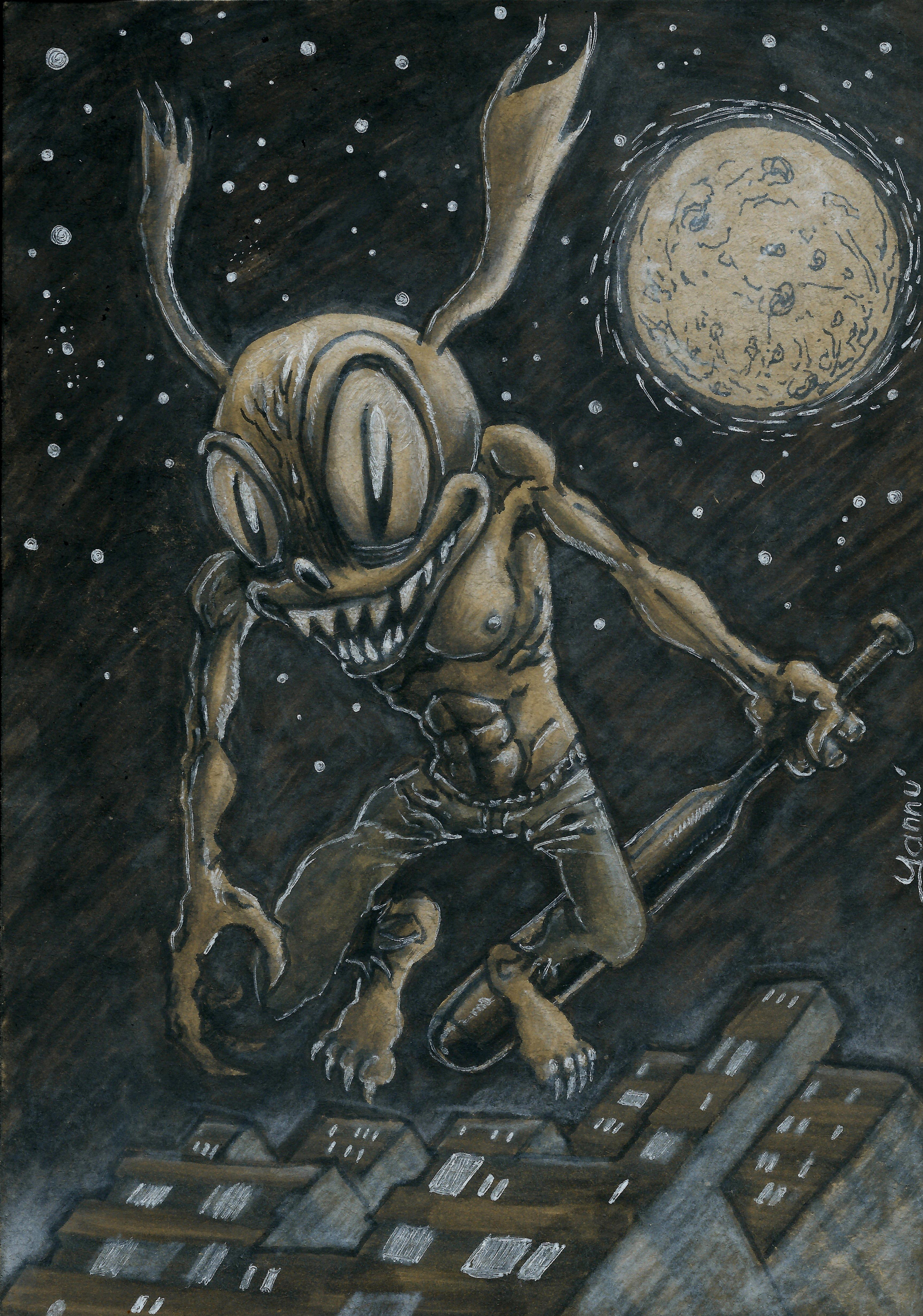 Halloween Daily monster #26