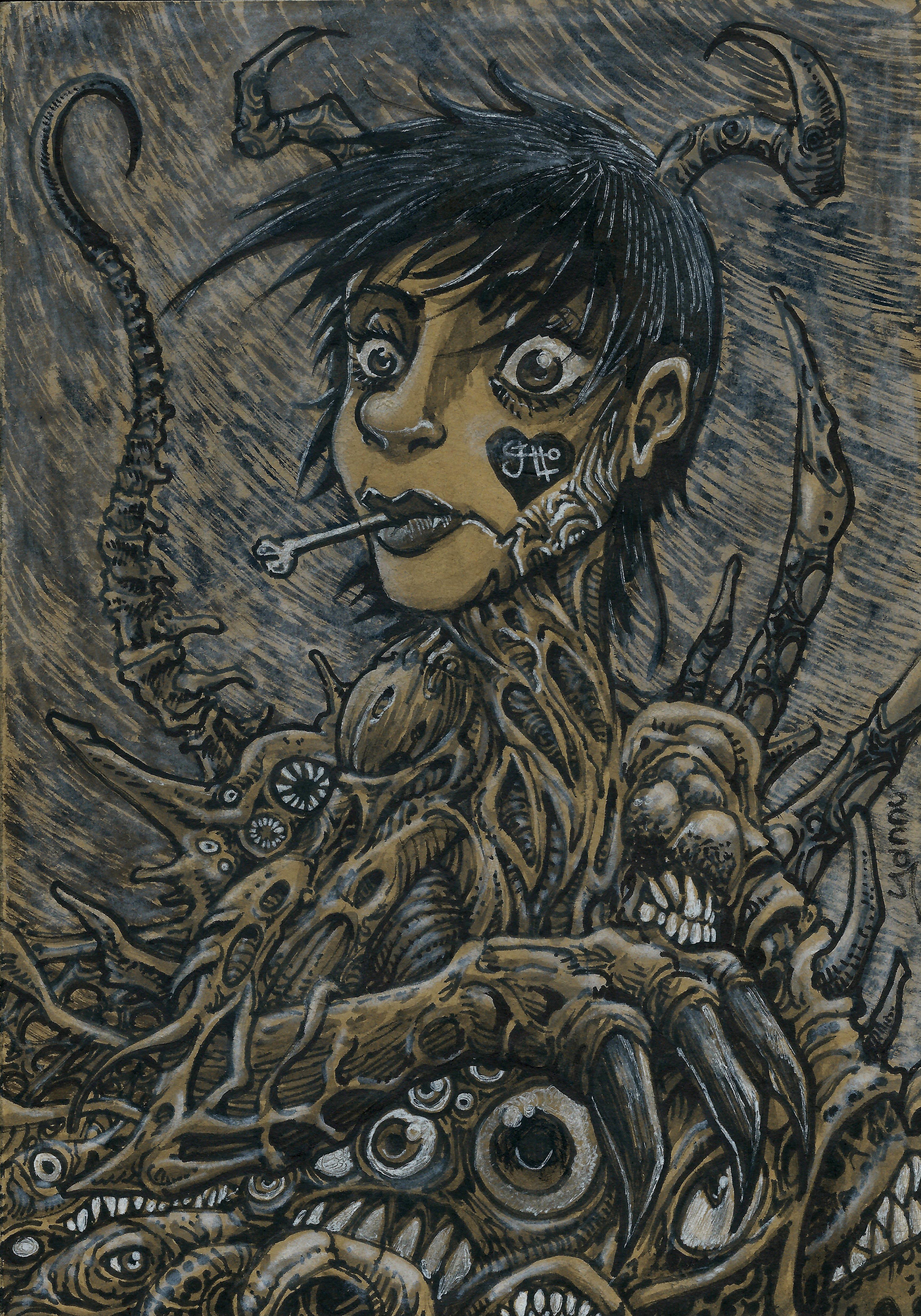 Halloween Daily monster #27