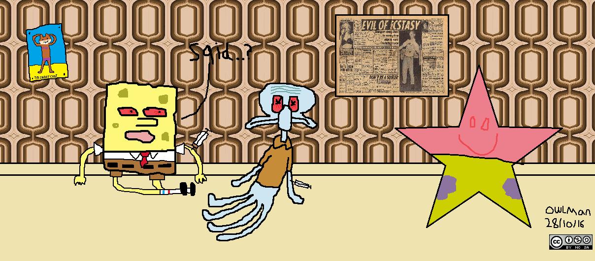 Spongebob in A Crackhouse