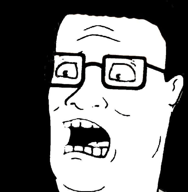 Hank Hill Raisin Face