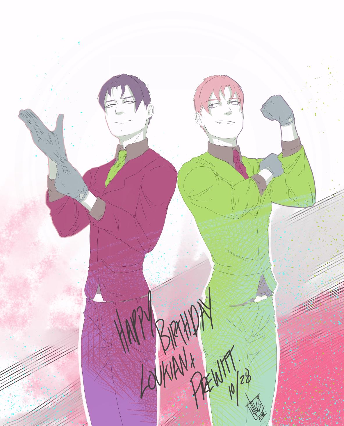 Joy Twins Birthday/2016