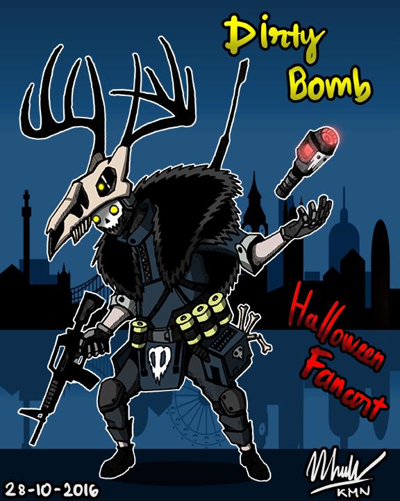 Dirty Bomb Halloween Fanart