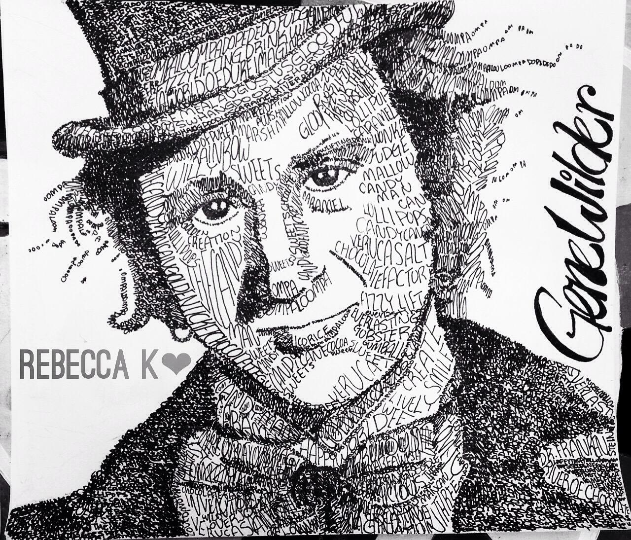 Gene Wilder Word Portrait