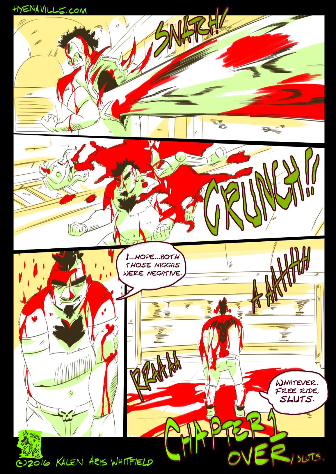 HYENAVILLE page 6