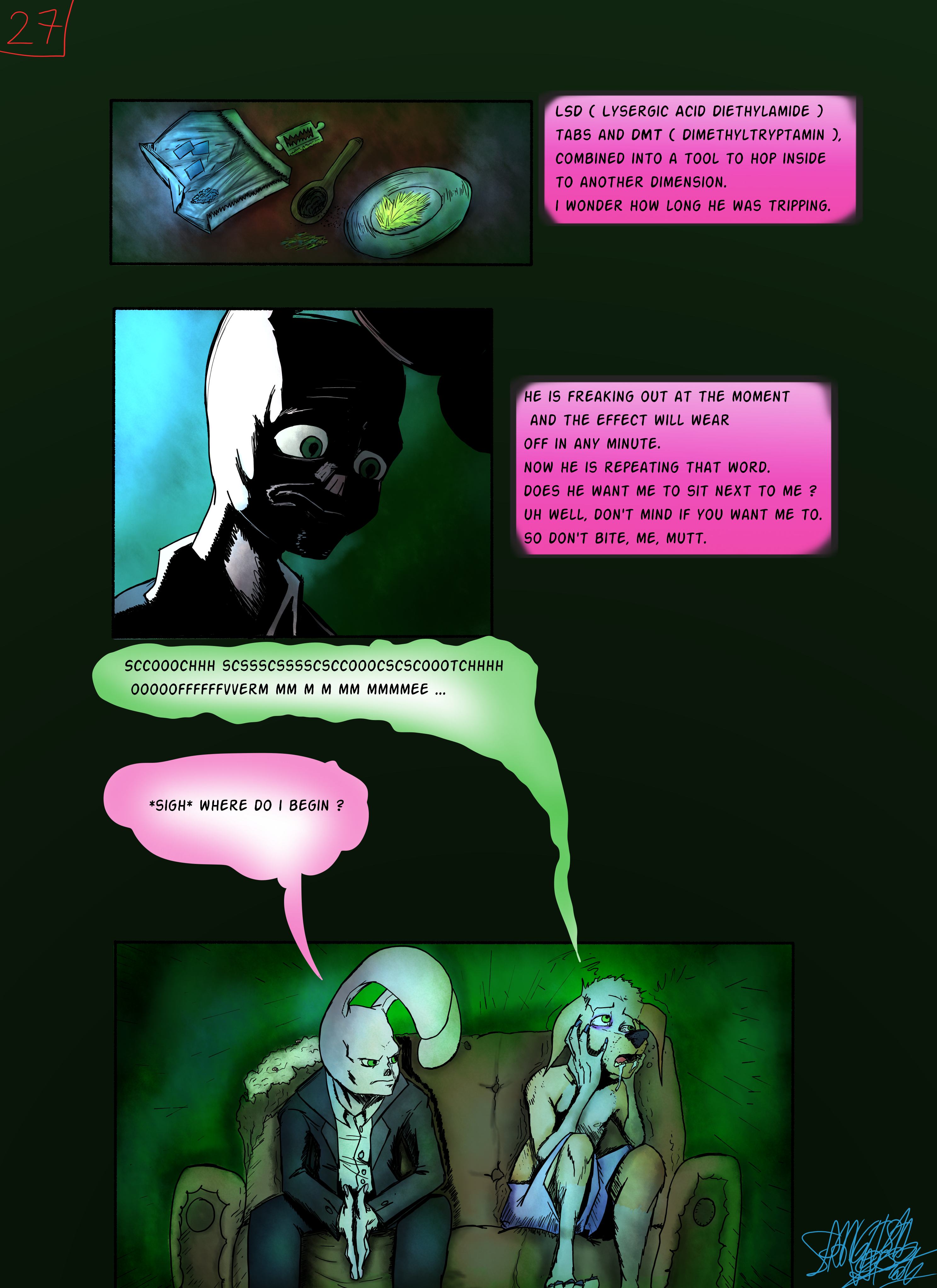 Bob the Psycho Rabbit Vs Alfred Alfer Page 27 (comic) (27/39)