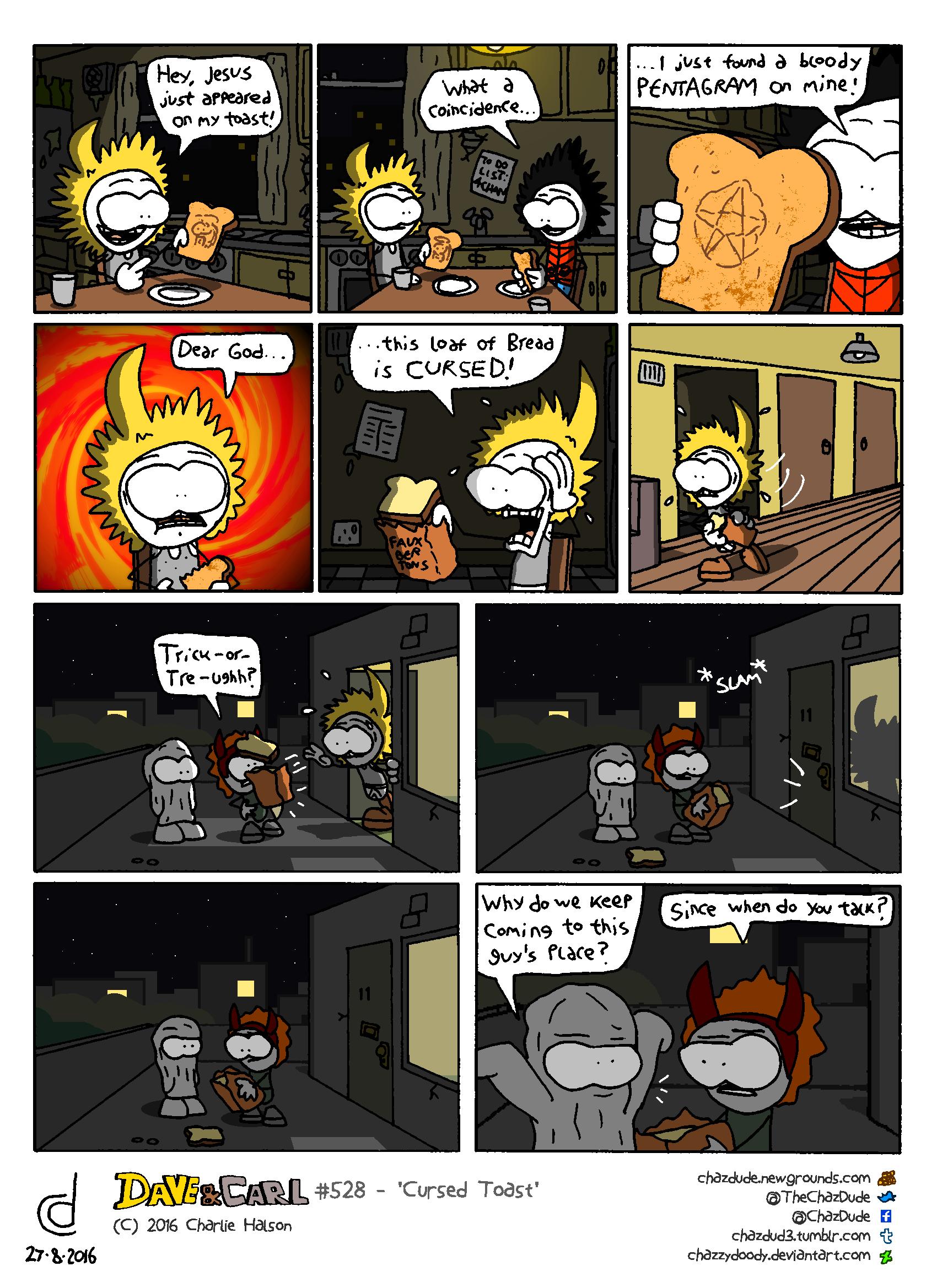 Cursed Toast