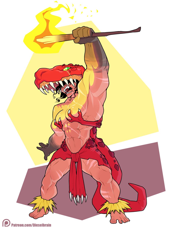 Dinosaur Witch