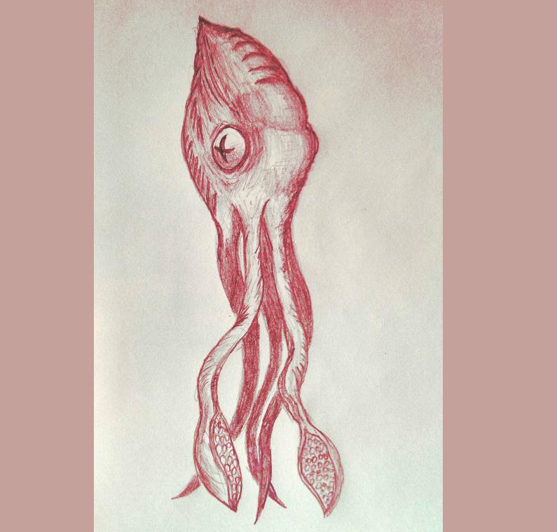 Evil Sentient Squid