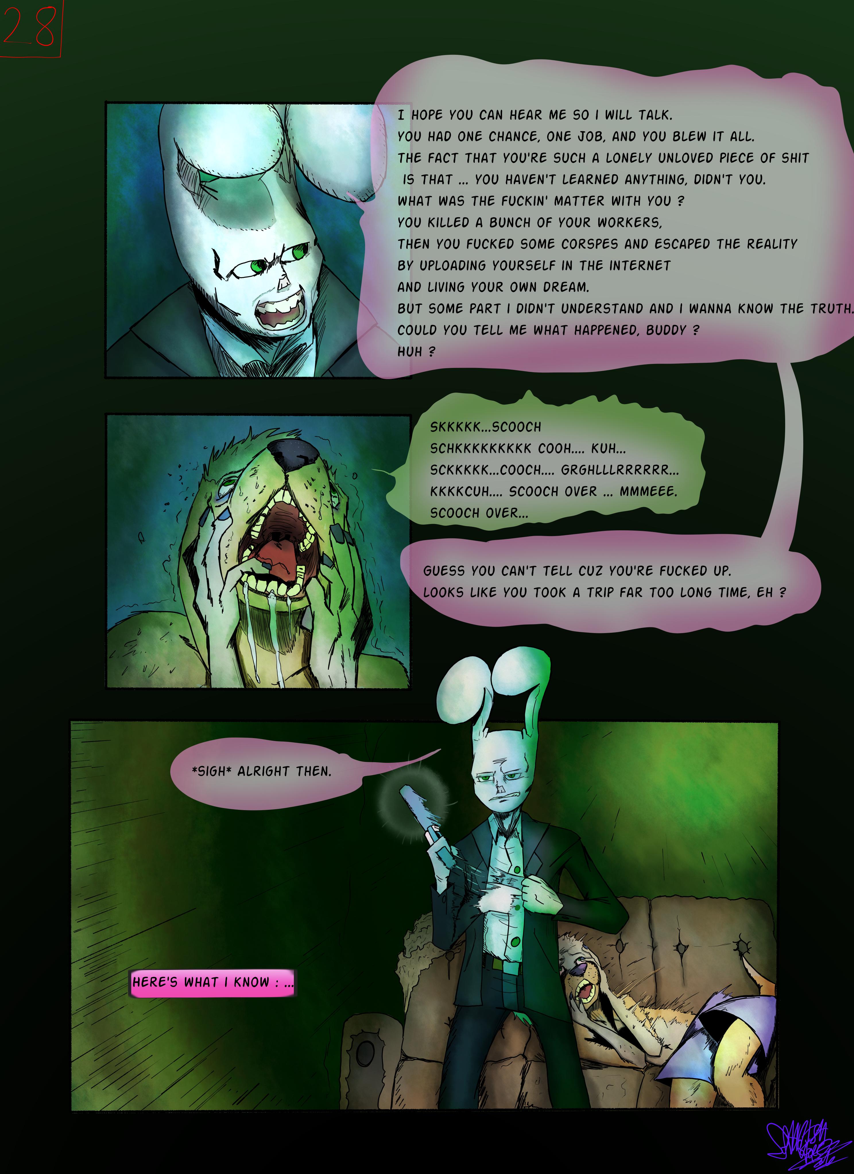 Bob the Psycho Rabbit Vs Alfred Alfer Page 28 (comic) (28/39)