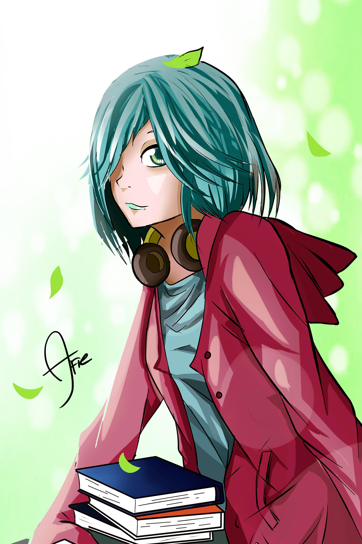 Green Kawaii