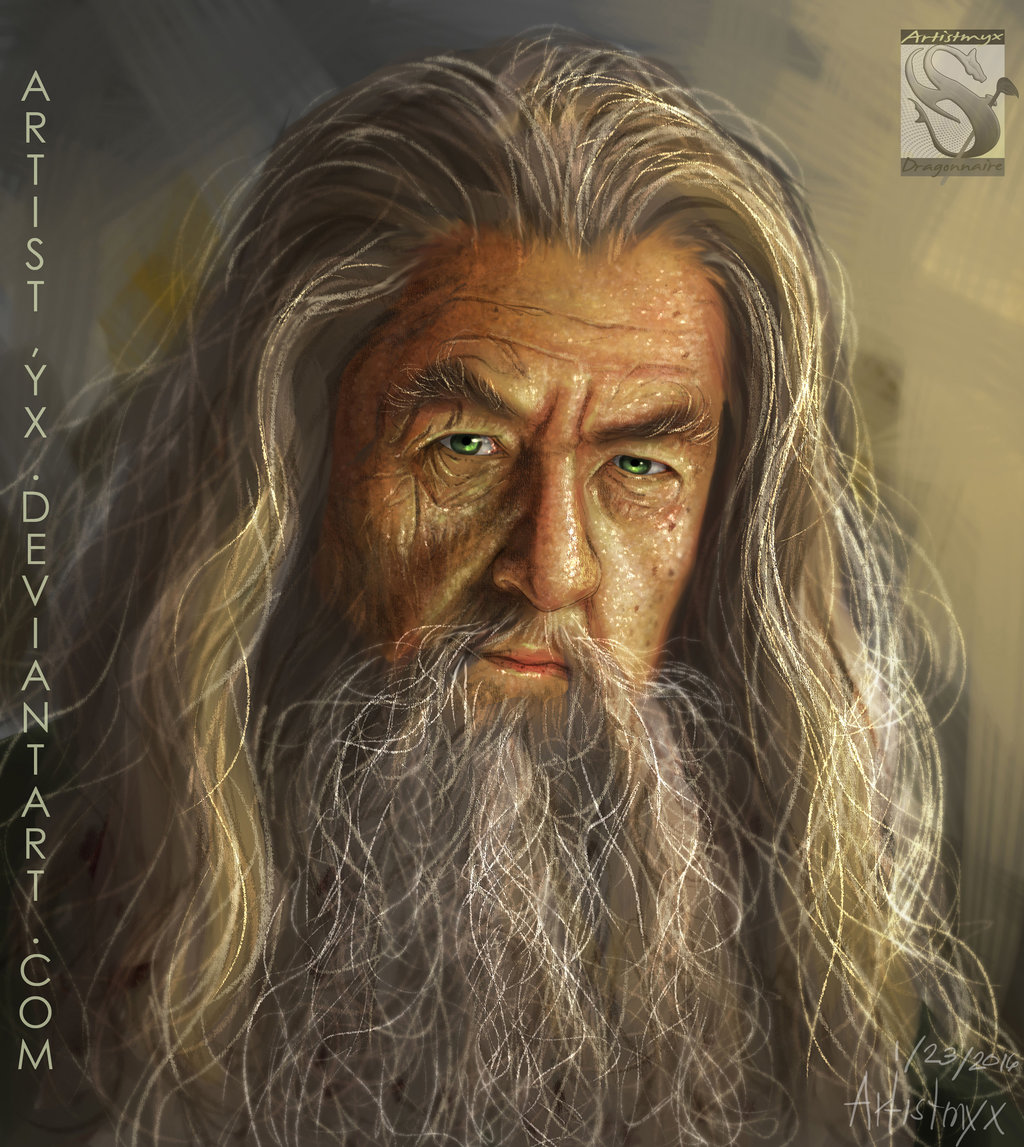 Gandalf - practice art