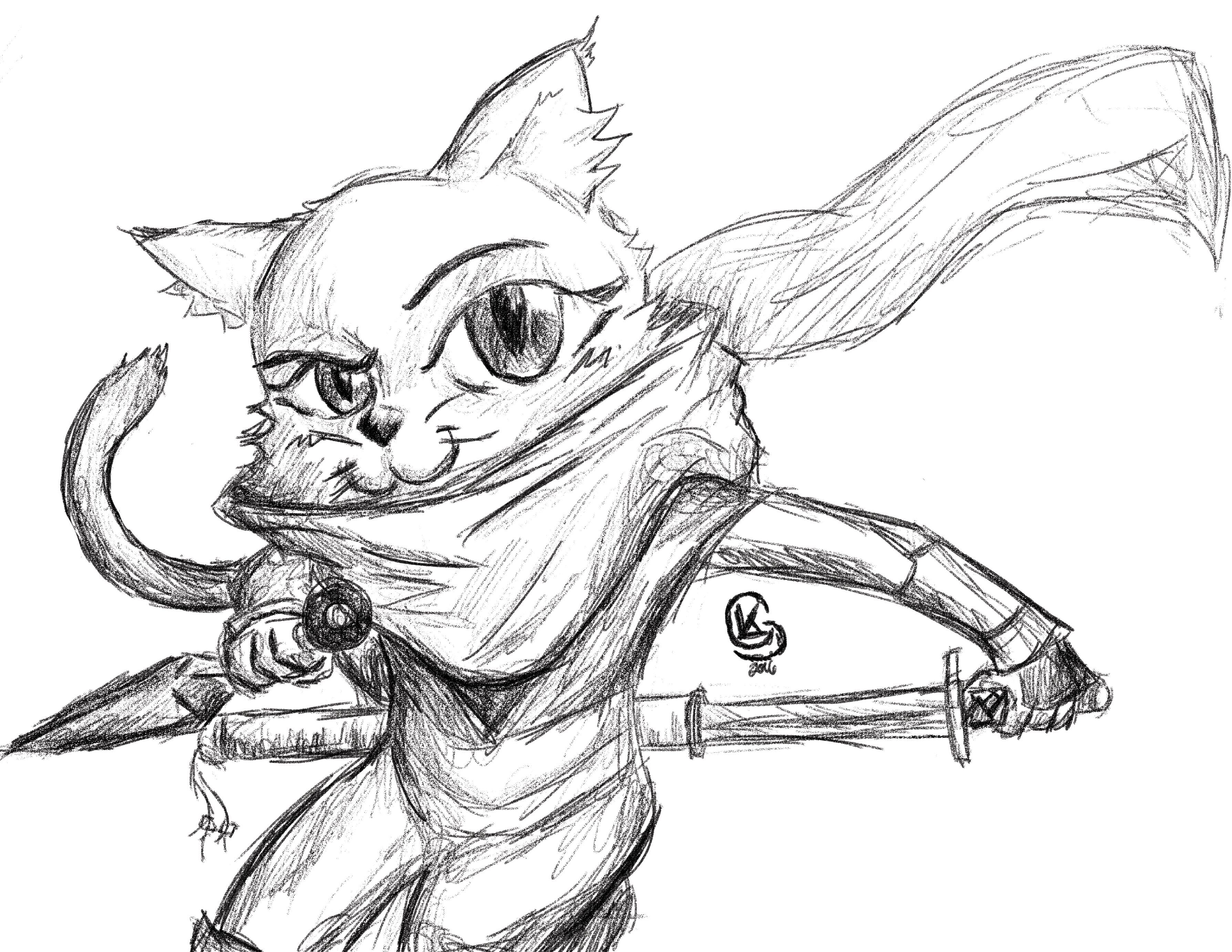Shinobi Kitty