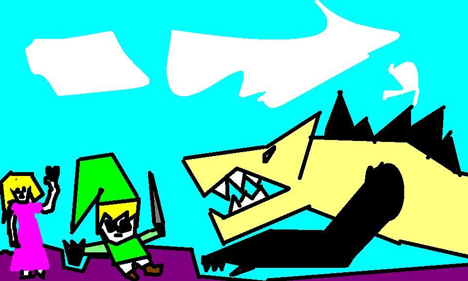 Link Vs Monster
