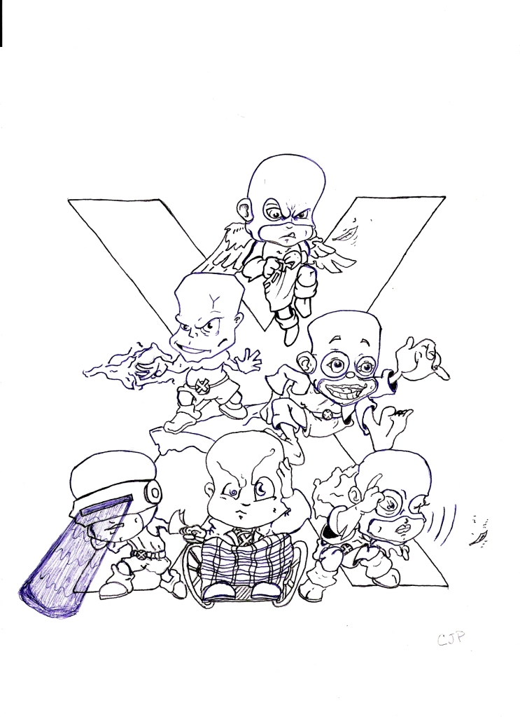 Bobble head X-men