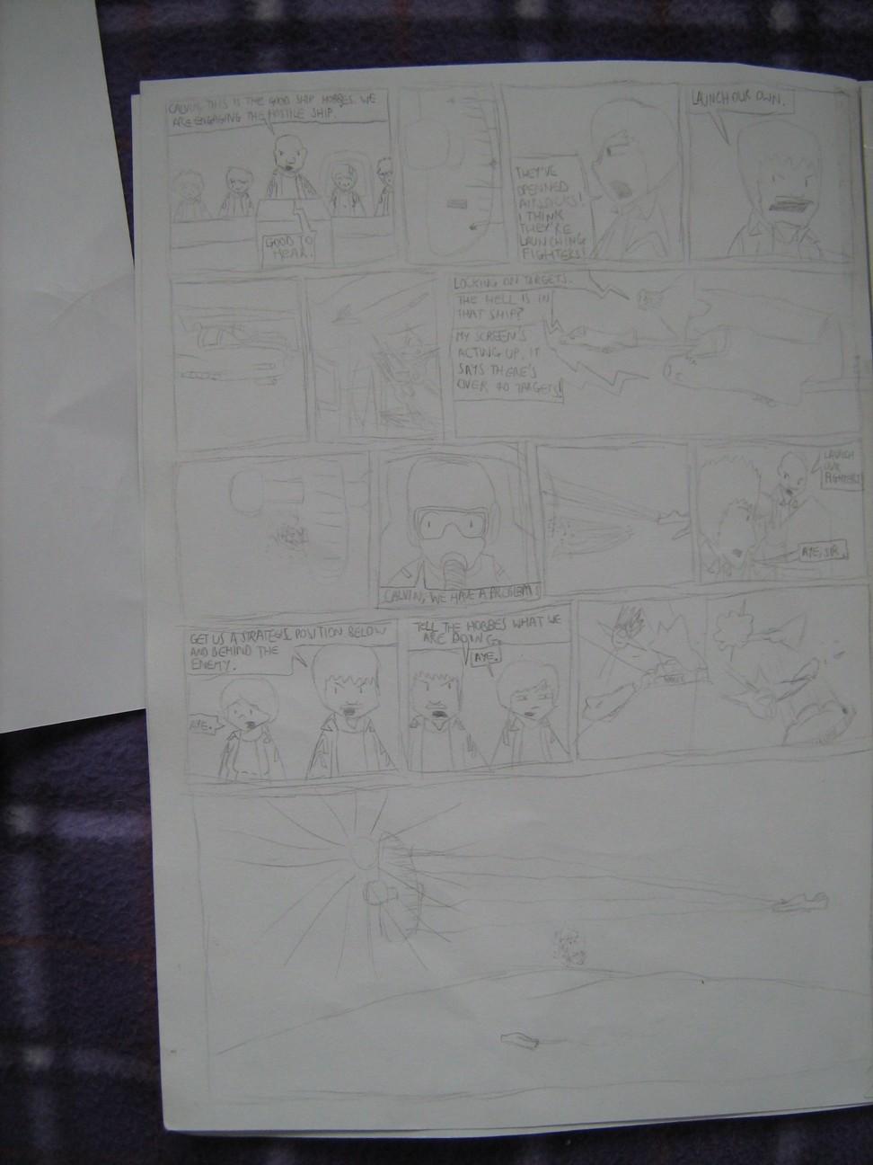 Space Fleet - Intruder Page 2