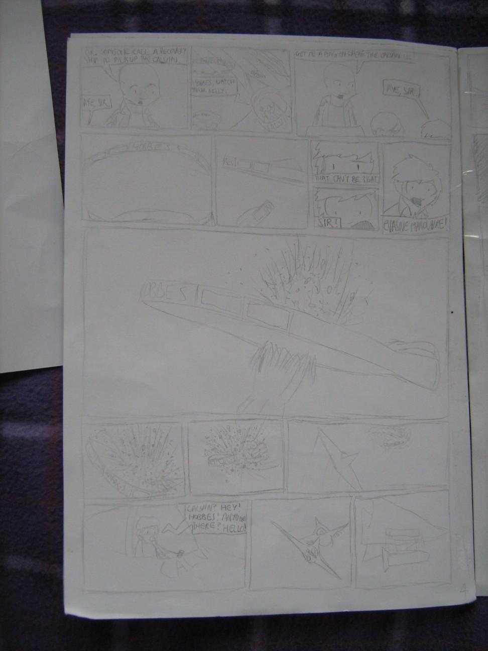 Space Fleet - Intruder Page 4