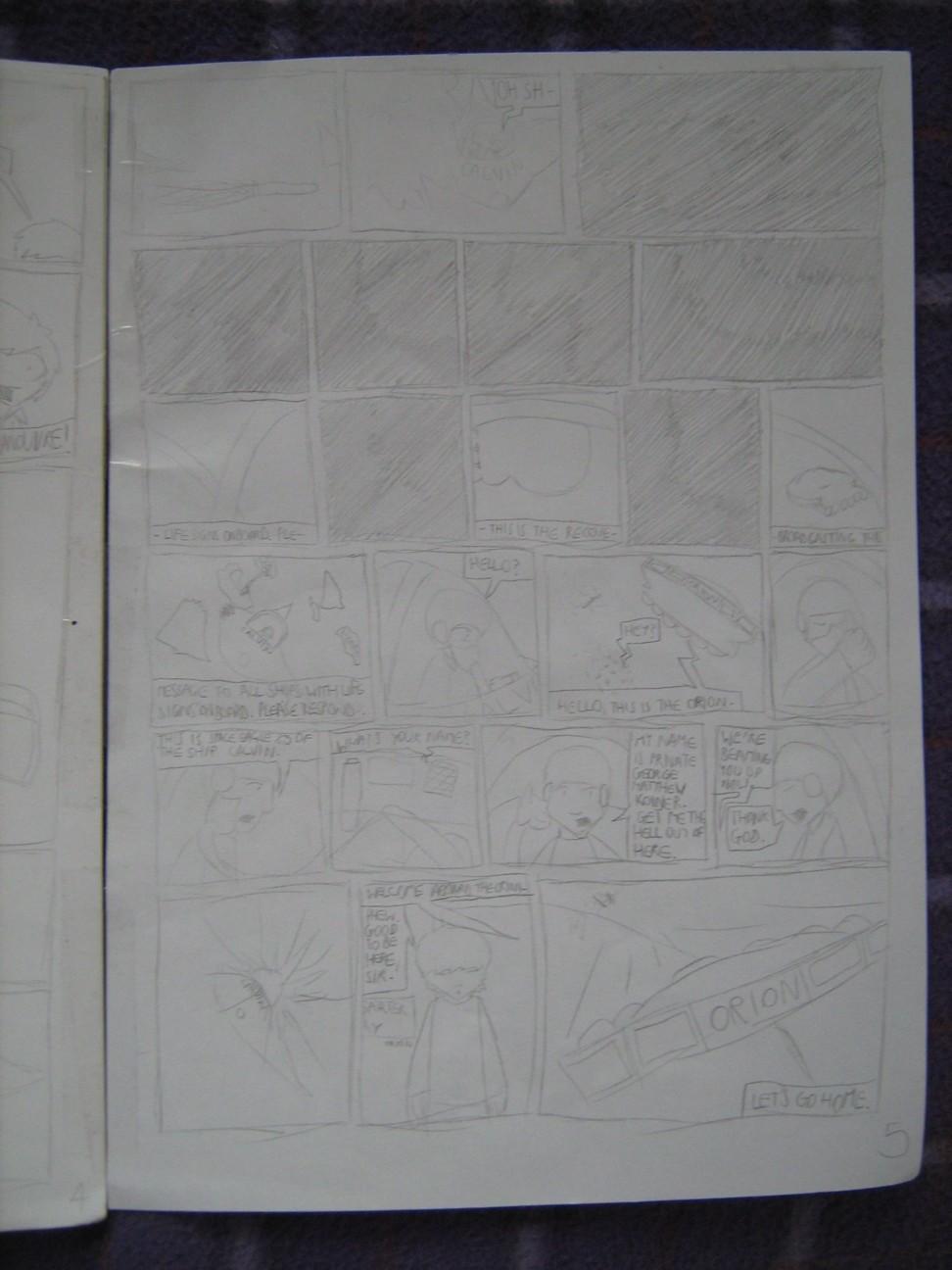 Space Fleet - Intruder Page 5