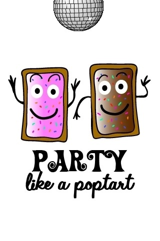 Party like a poptart