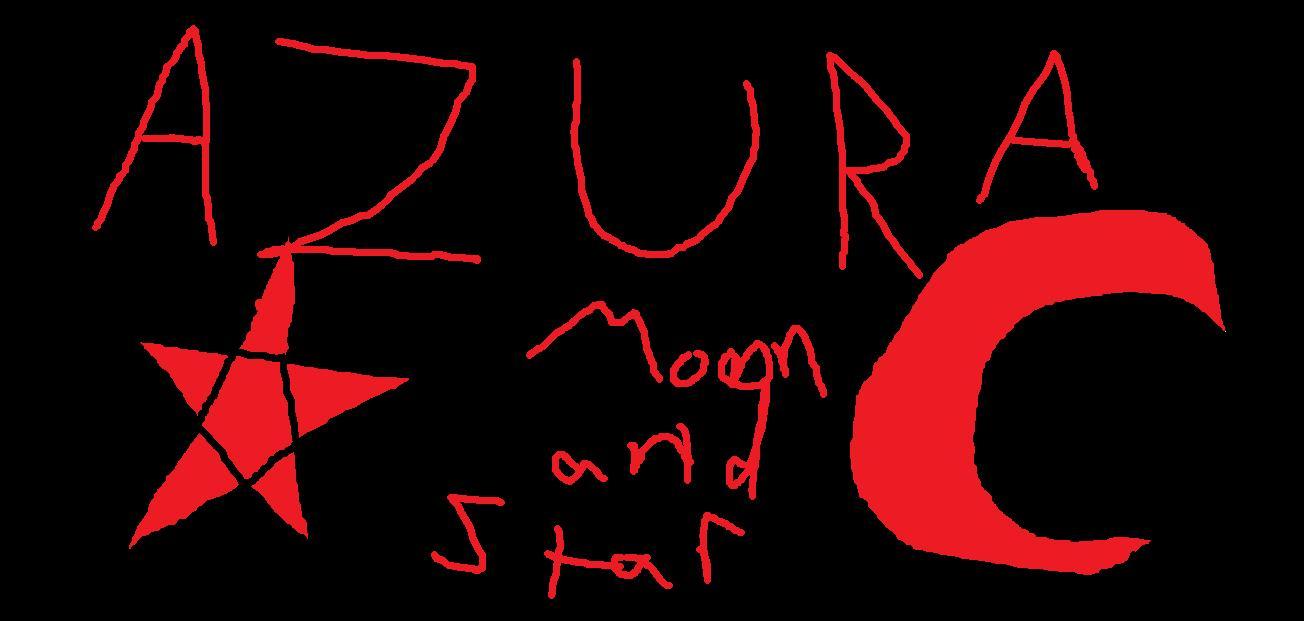Azura moon and star