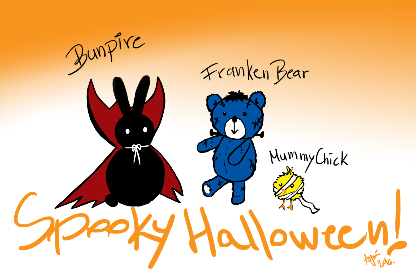 my little fellowship wish you spooky halloween!