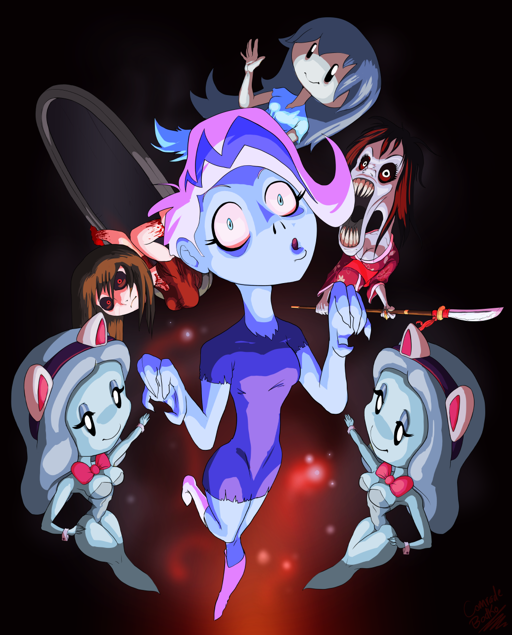 All of the Ghost Girls