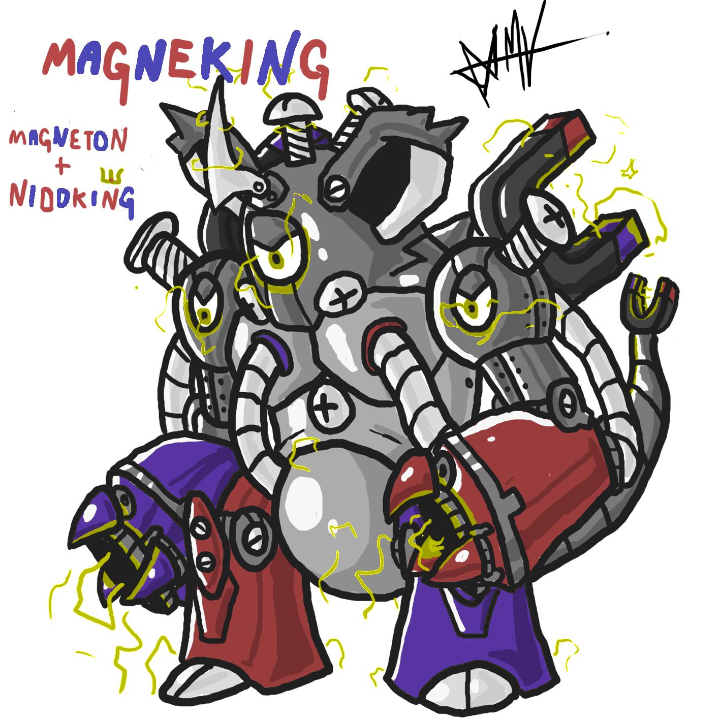 Magneton+Nidoking #PokeMashupChallenge