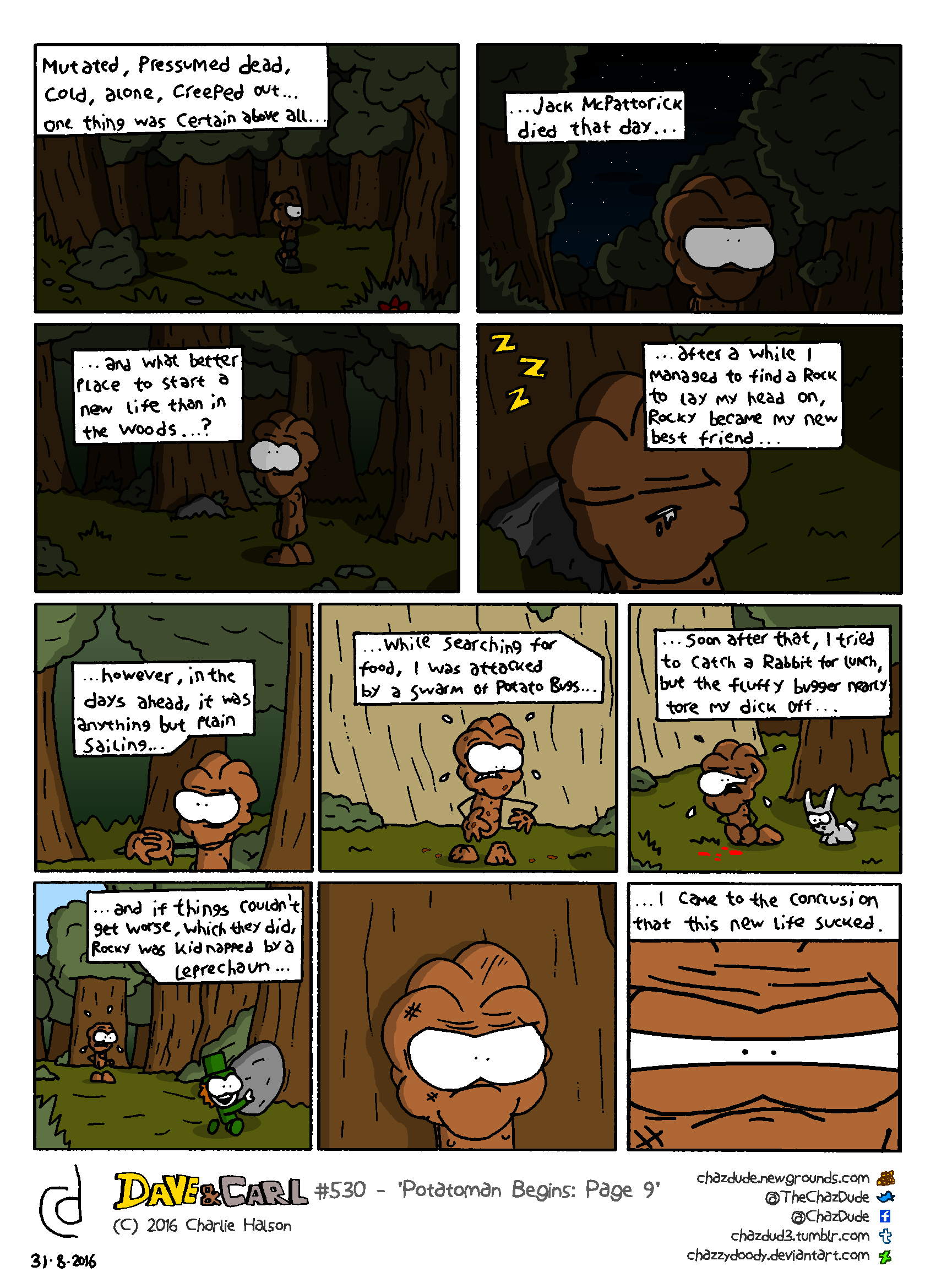 Potatoman Begins: Page 9