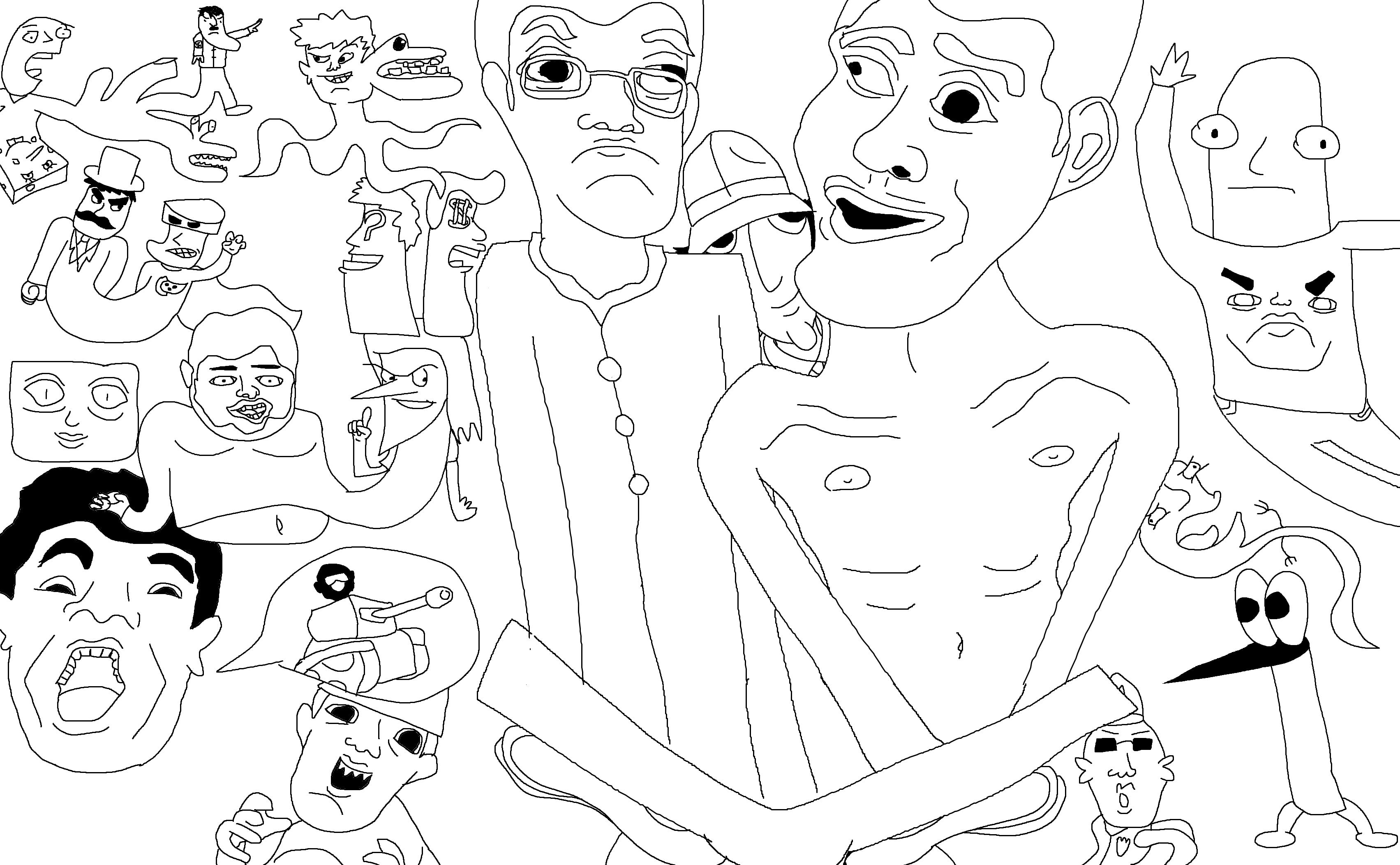 Amazin' MSPaint Collage