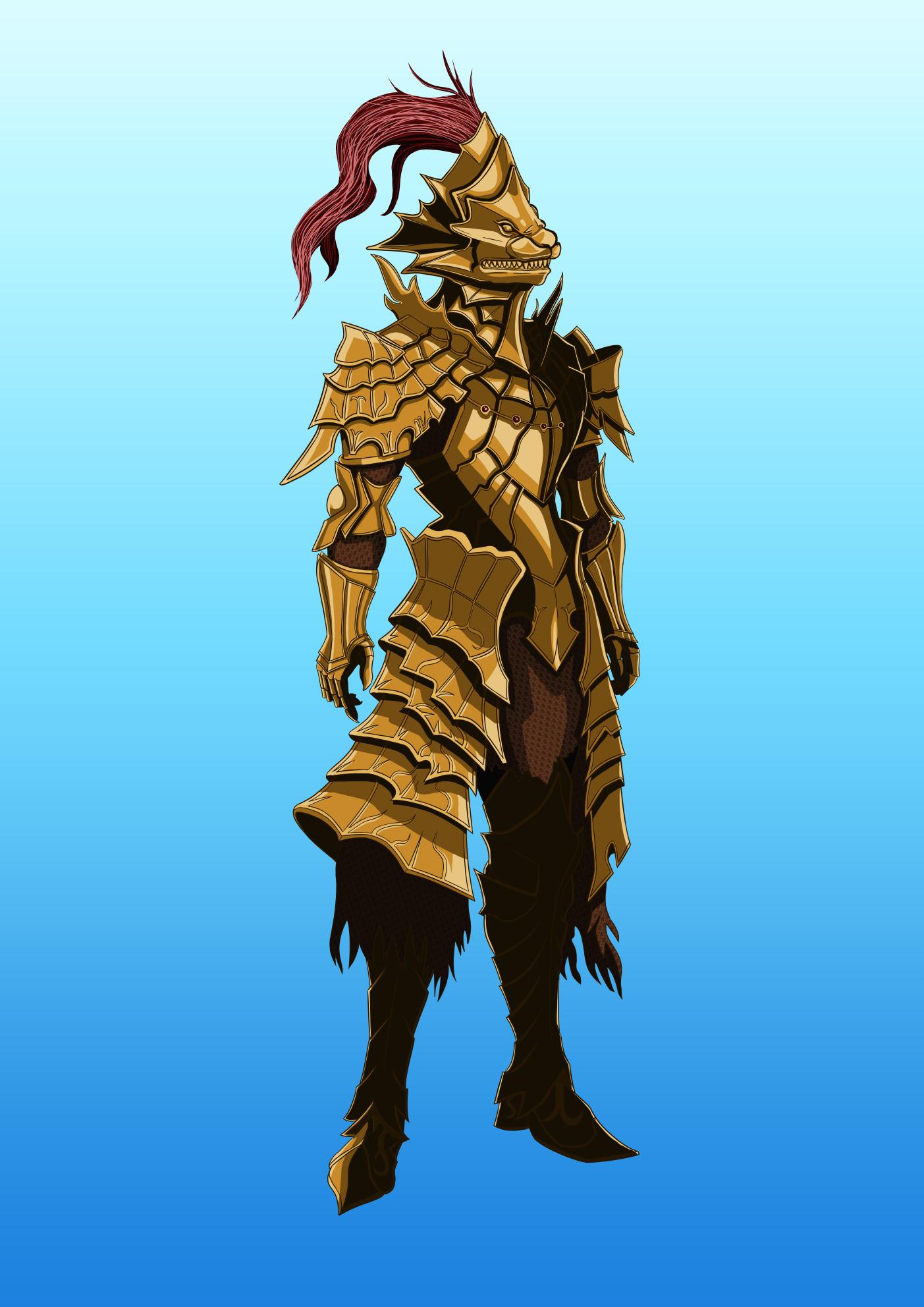 Ornstein, The Dragon Slayer