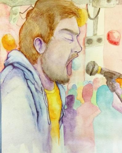 Jeff Rosenstock Watercolor