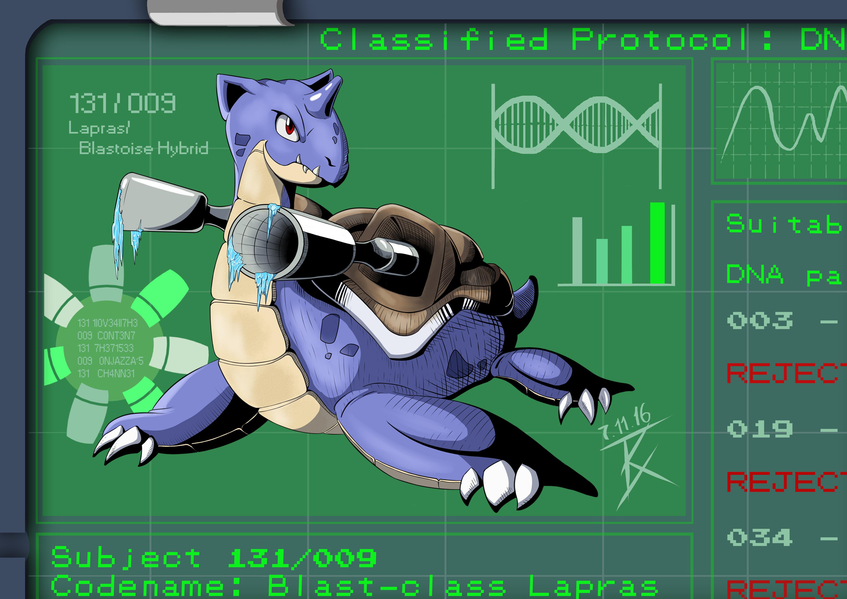 Blastoise-Lapras hybrid