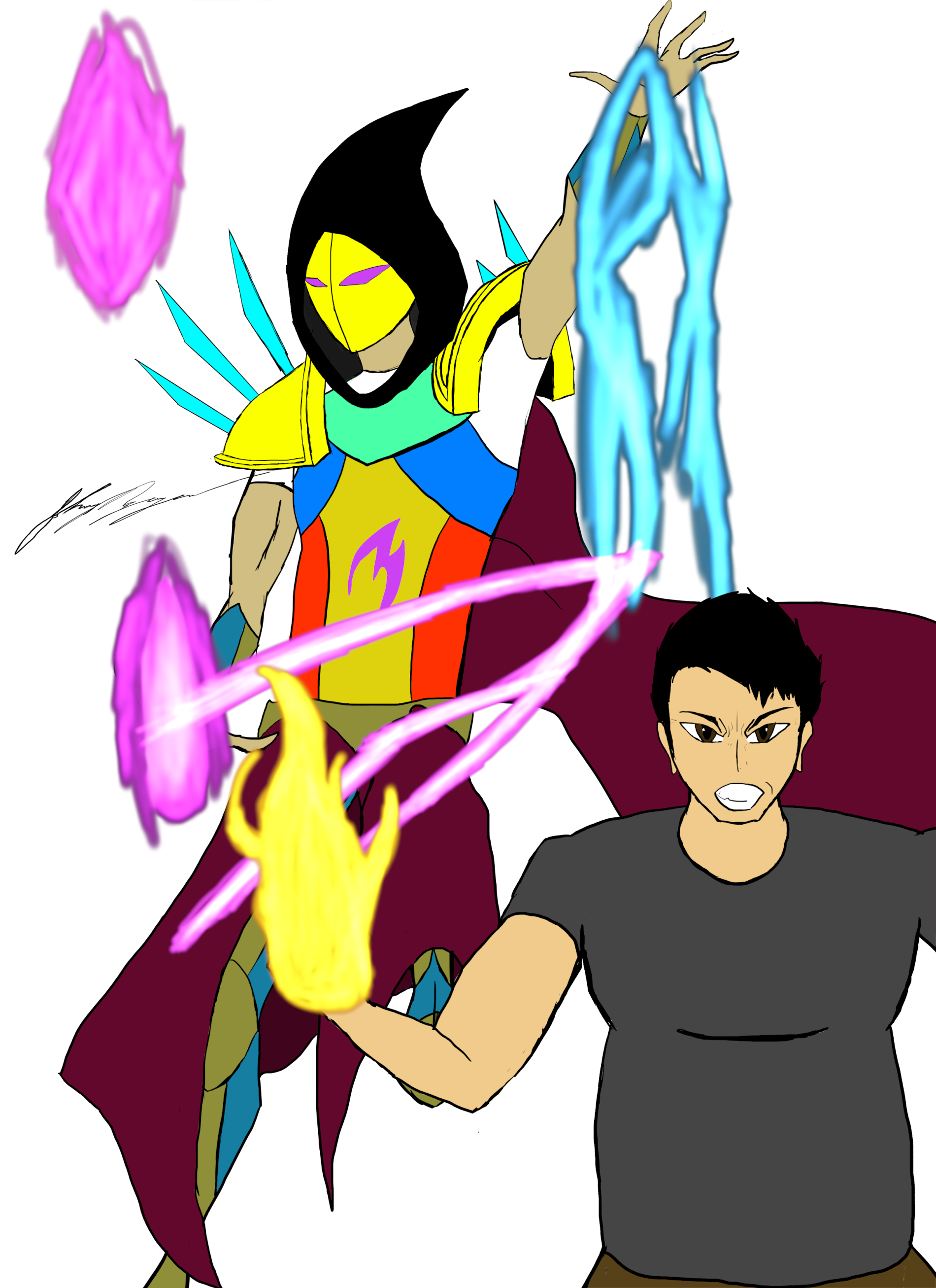 ArchMage and PyroMancer