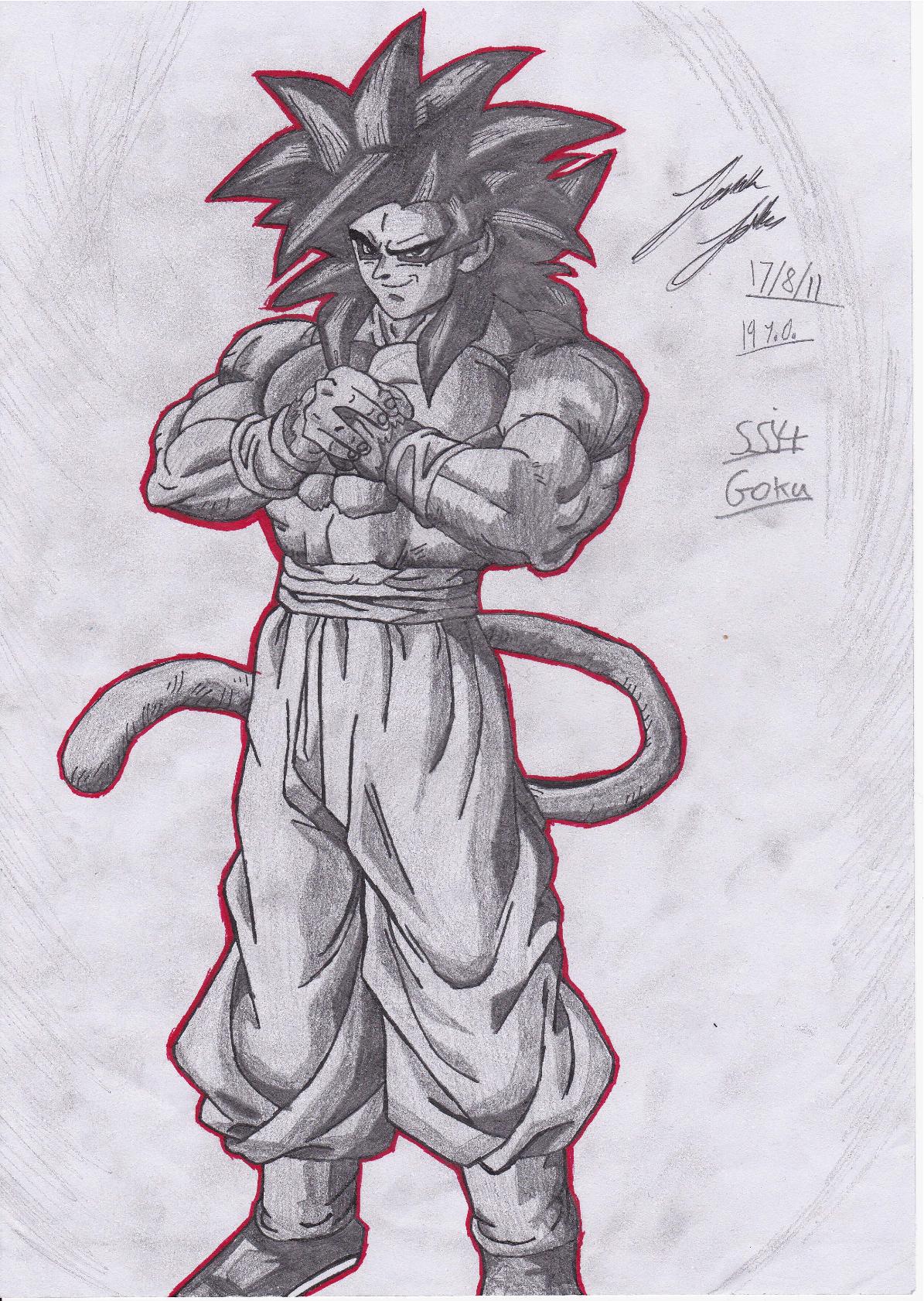 Super Saiyan 4 Goku