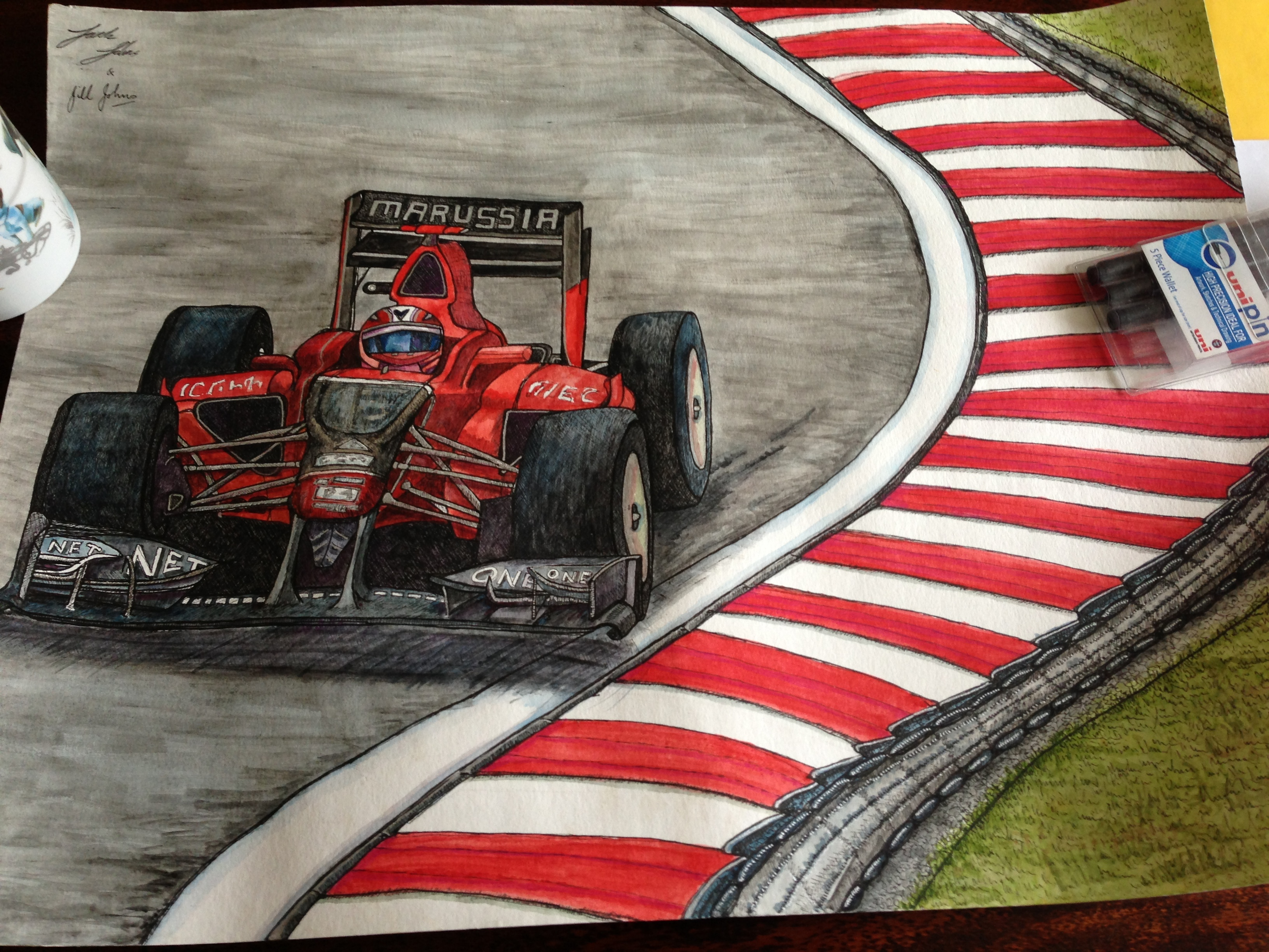 Formula 1 2012 Marussia - Max Chilton