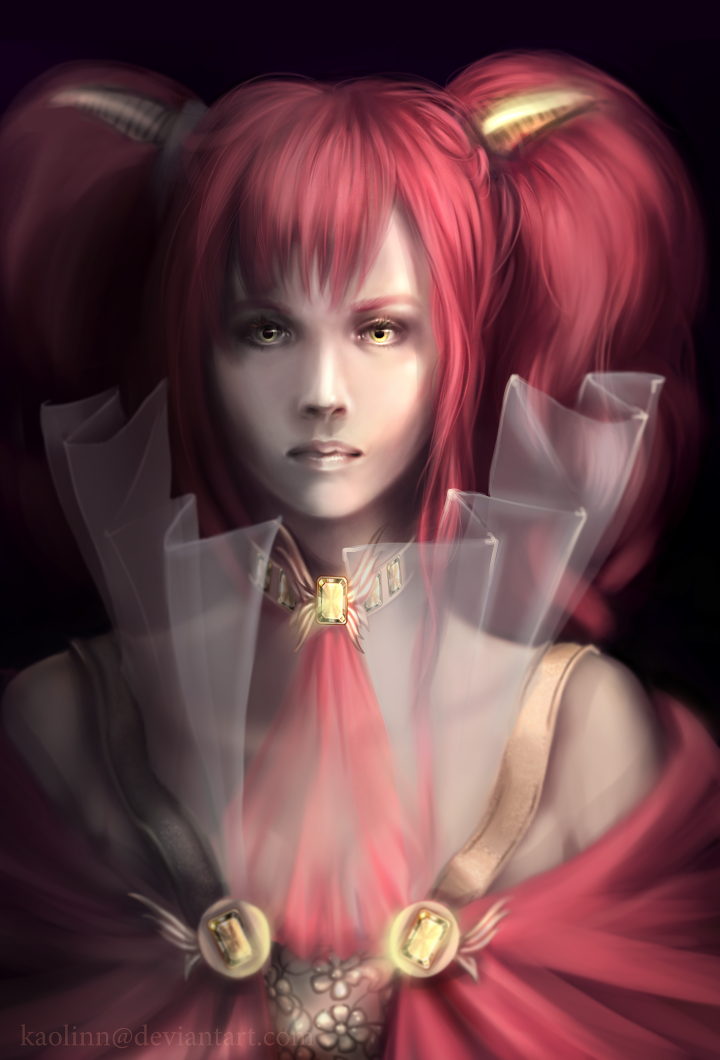 Red suits the Queen